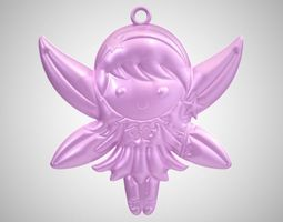 Fairy Necklace 3D printable model