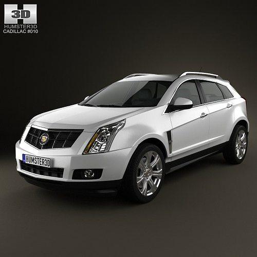 Cadillac SRX 2013 3D
