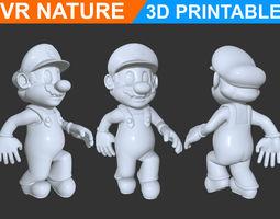 Super Mario 3D Printable 180707