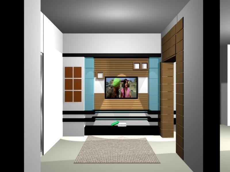 3d Model Drawing Room Decoration Vr Ar Low Poly Max Obj Fbx