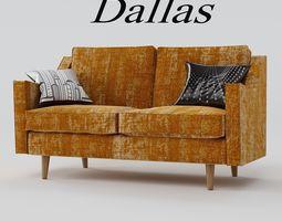 3D sofa dallas