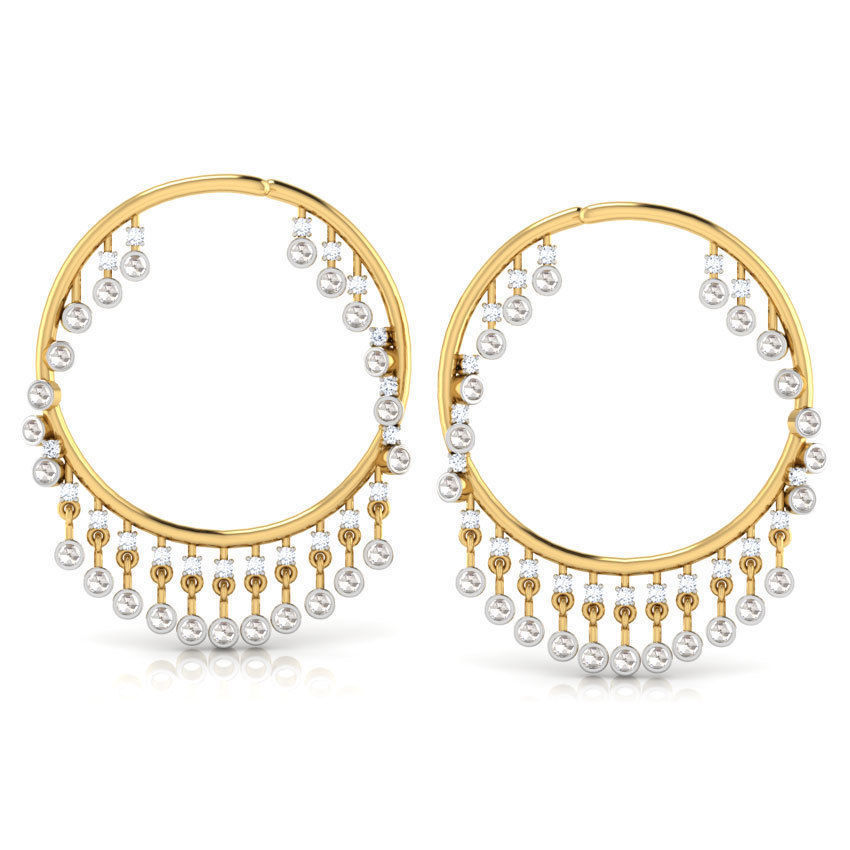 Round Long Earring