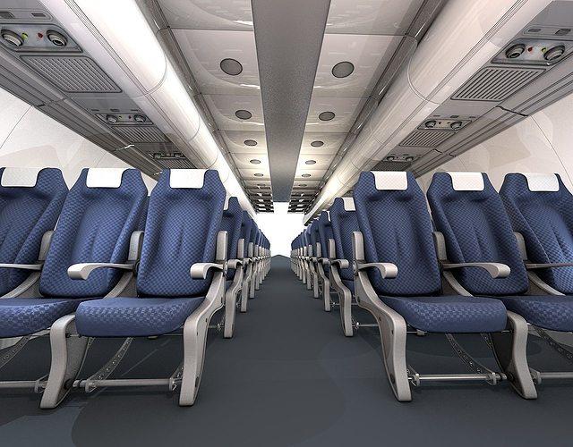 airplane-interior 3d model obj mtl 3ds c4d 1