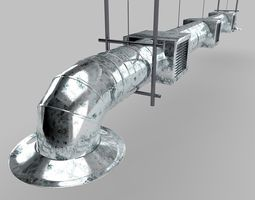 air-duct 3d model
