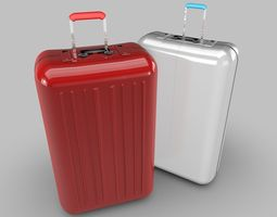 3D model luggage Suitcase