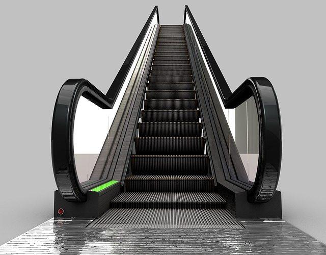 Science Model Electric >> 3D Escalator | CGTrader