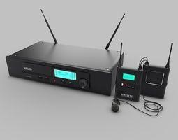 3D Wireless-Lav-Mics