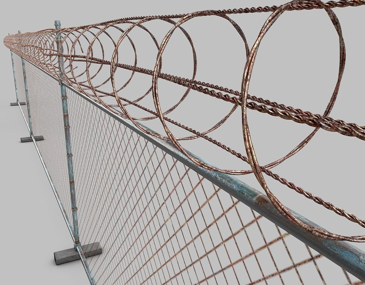 Barbed Wire Model - WIRE Center •