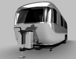 3D model Airstream-Camper