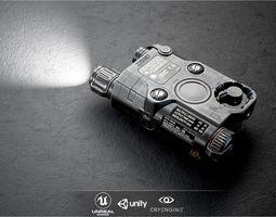 ATPIAL ANPEQ15 Laser - IR Laser Sight and IR 3D asset