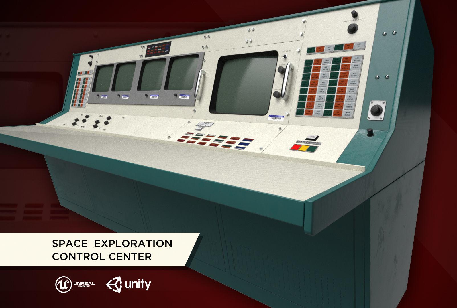 Space Exploration Control Center - Apollo Flight Controller