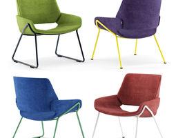 PROSTORIA Monk Easy Chair metal By Grupa 3D