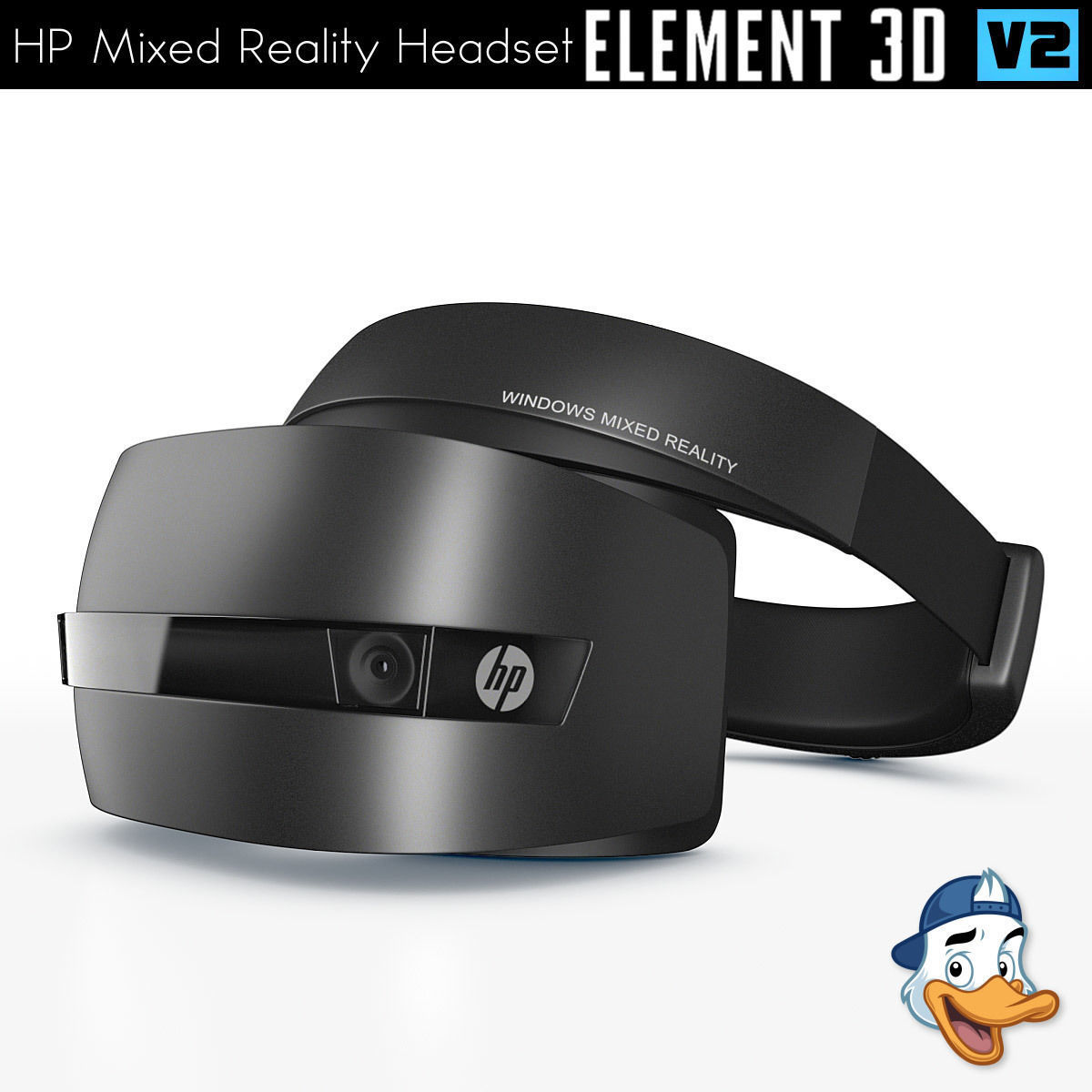 HP Windows Mixed Reality Headset for Element 3D   3D model
