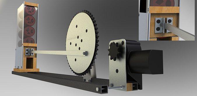 Electromechanical can crusher