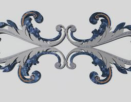 Decor - Decorative mirror 3D asset