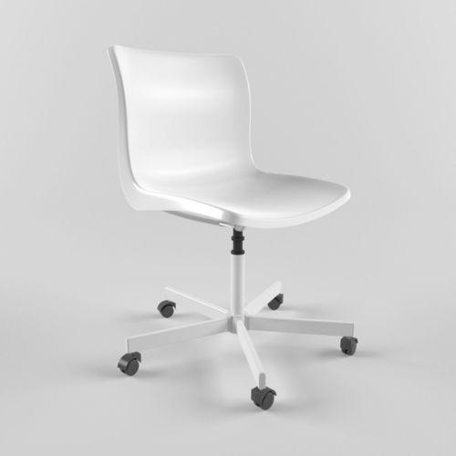 ikea snille chair 3d model max obj mtl fbx 1