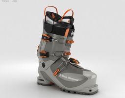 Black Diamond Prime Ski Boot 3D