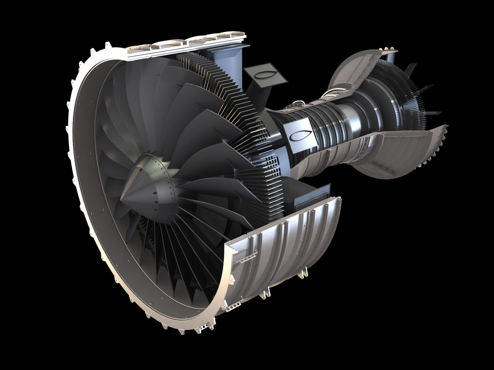 AIRCRAFT TURBOFAN ENGINE