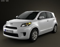 3D model Scion xD 2012