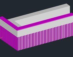 Modern Counter 3D printable model