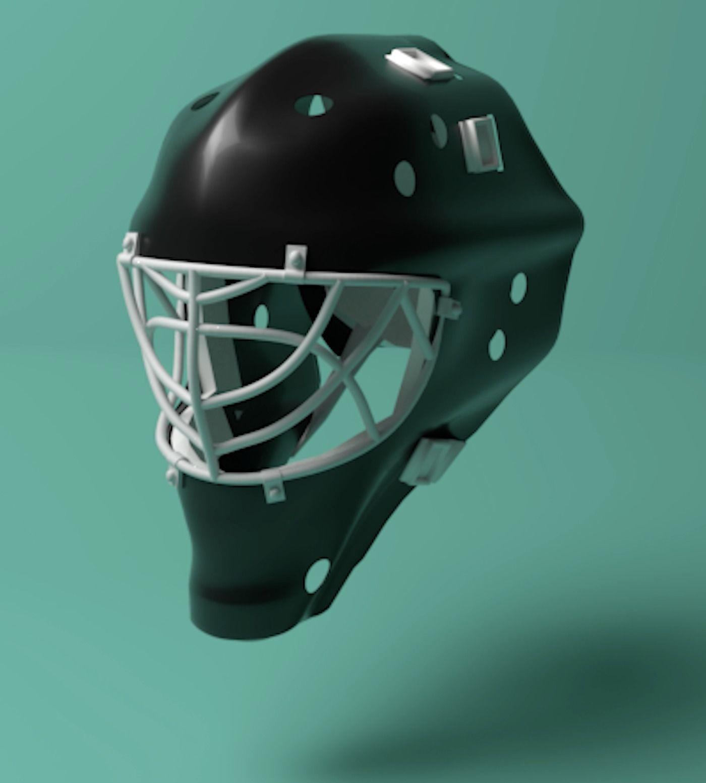 Hockey Goalie Mask | 3D model
