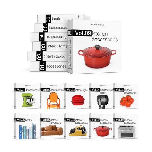 modelplusmodel mega bundle vol01-vol10 3d model max obj mtl fbx pdf 1