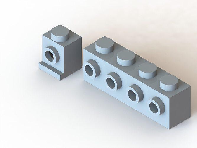 3D Lego Side-Stud Brick   CGTrader