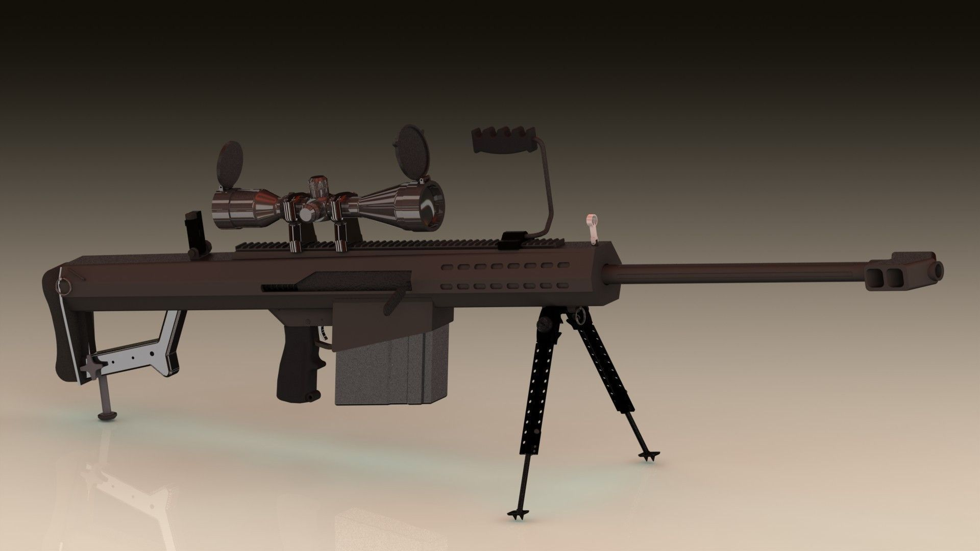 m107 sniper rifle - photo #8