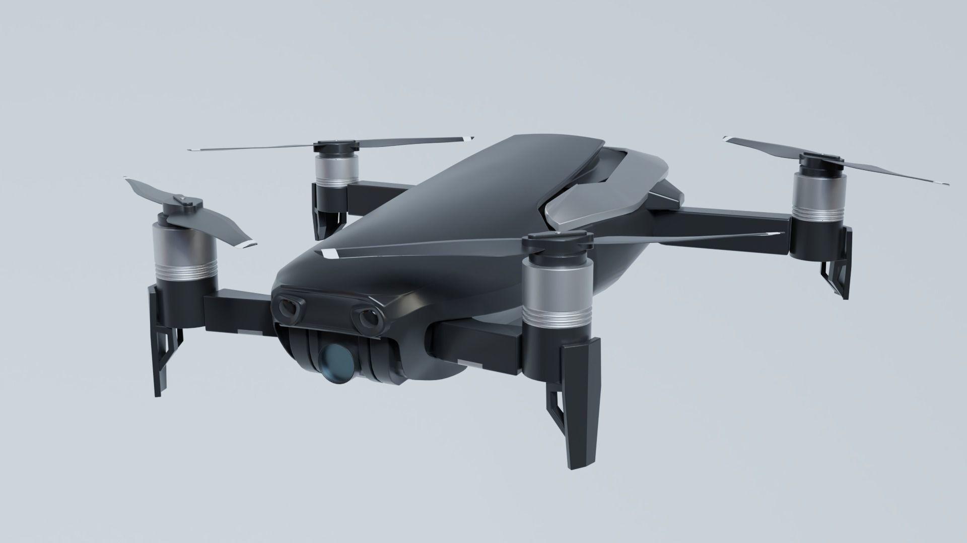 3D model animated DJI Mavic Air Drone | CGTrader
