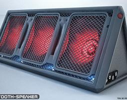 3D model 2 Bluetooth speaker