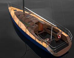 3d sailboat