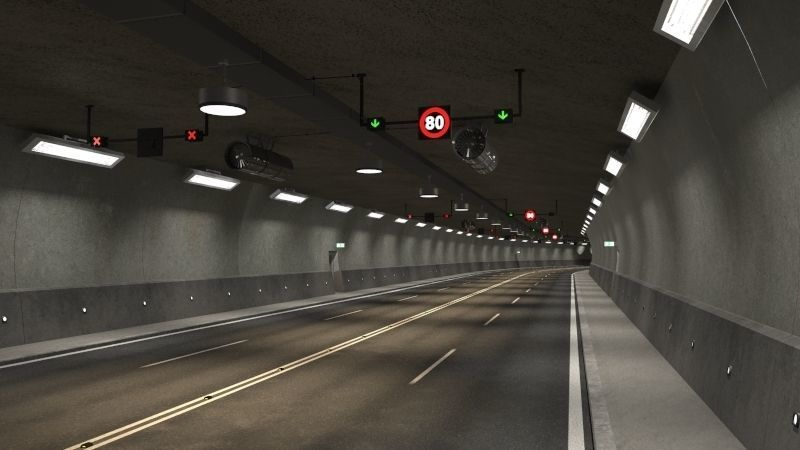 Tileable road tunnel 01