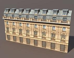 3D model hotel Apartment House