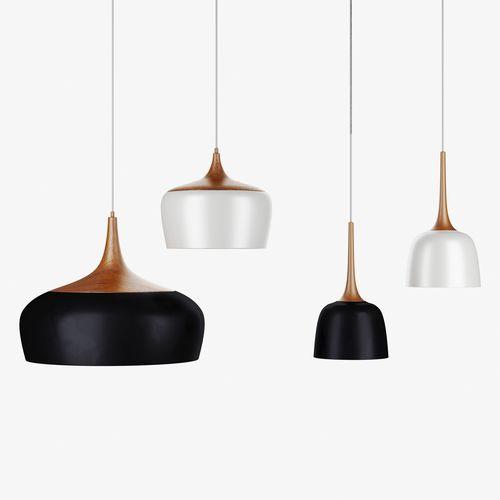 polk pendant light wood 3d model max obj mtl mat 1