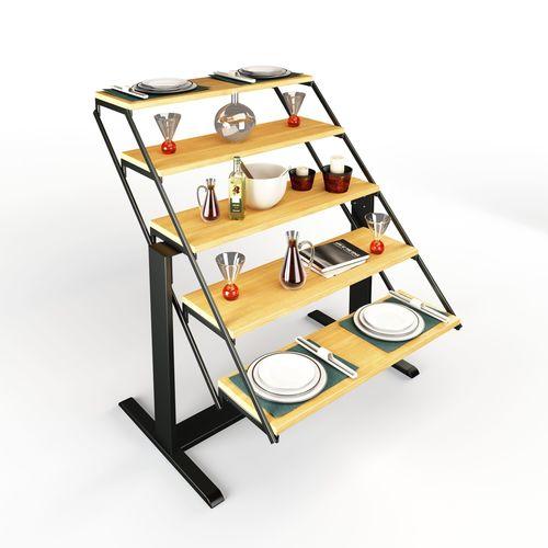 swing table rigged 3d model max obj fbx mtl mat 1