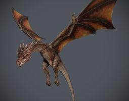 3D model Dragon-Maya-Animation