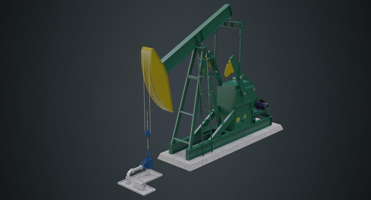 Oil Pumpjack 1A