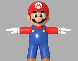 Super Mario 3D model print 3dprint