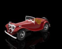 Jaguar SS100 3D model