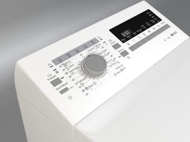 3d Washer Siemens Iq 300 Wp Cgtrader