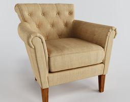 armchair flexsteel azalea 3d model