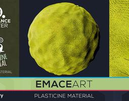 PBR Plasticine Material 6 Substance Unity 3D model