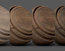 3D Substance Painter Wood 1 Smart Material
