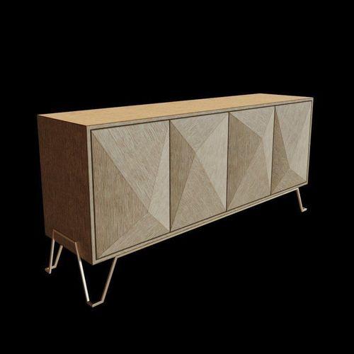 eichholtz highland cabinet  3d model max obj mtl 3ds fbx 1