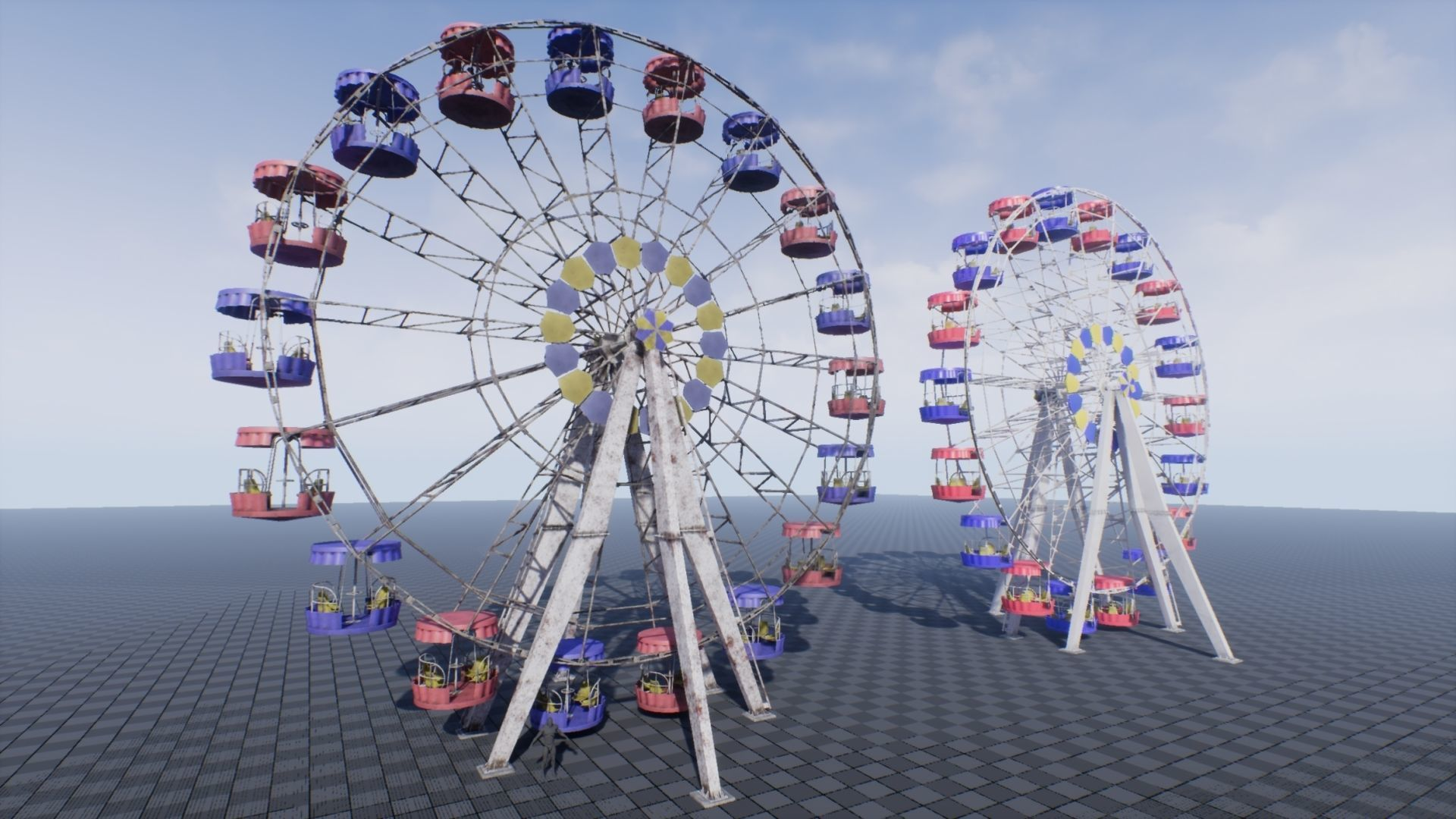 Ferris Wheel UE4