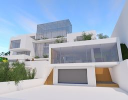 collective housing 3d model