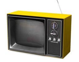3D model Vintage Television