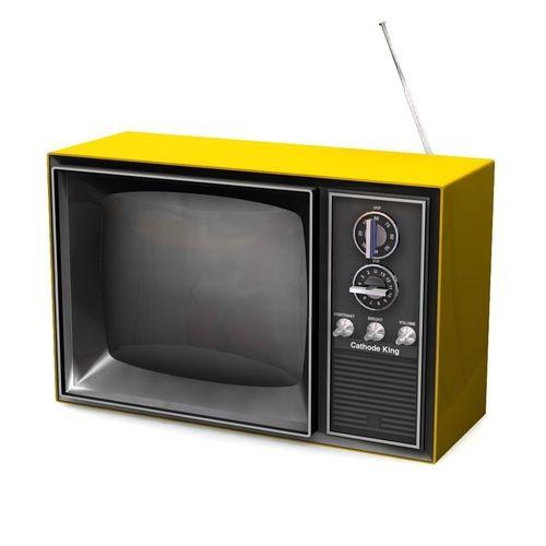 vintage television 3d model obj mtl fbx lwo lw lws 1