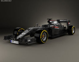 f1 3D McLaren MP4-31 2016