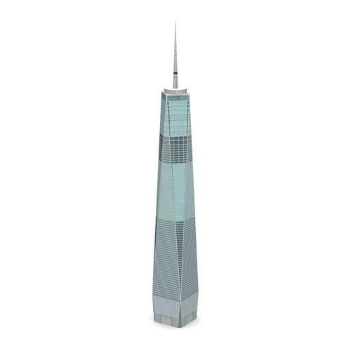 1 world trade center -- low poly 3d model obj mtl fbx lwo lw lws 1